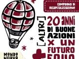 Campagna capitalizzazione: (altri) 20 anni di buone azioni per un futuro piùequo
